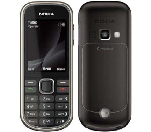 Nokia 3720 Classic Svart