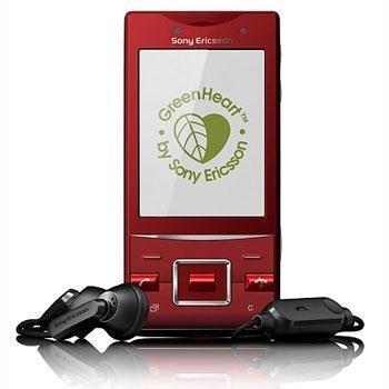 Sony Ericsson Hazel j20 Röd