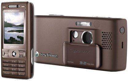 Sony Ericsson K800i Brun