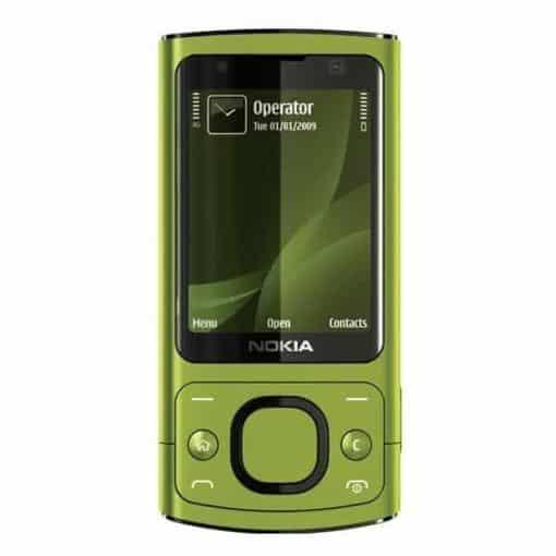 Nokia 6700 Slide Grön