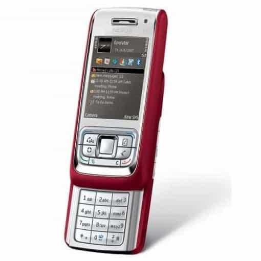 Nokia E65 Röd