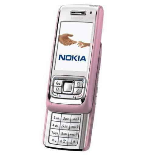 Nokia E65 Rosa