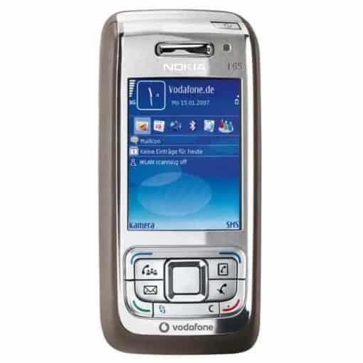 Nokia E65 Svart