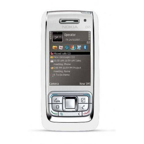 Nokia E65 Vit