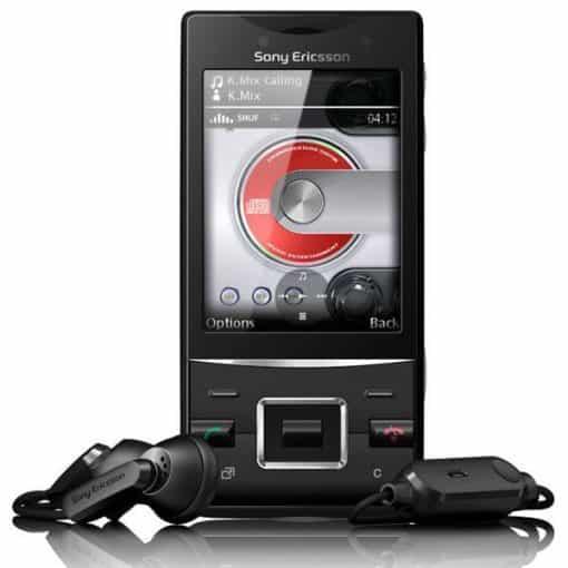 Sony Ericsson Hazel J20 Svart