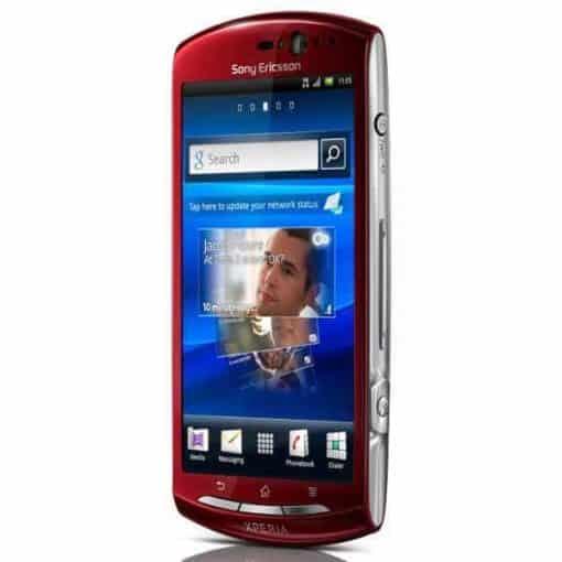 Sony Ericsson Xperia Röd
