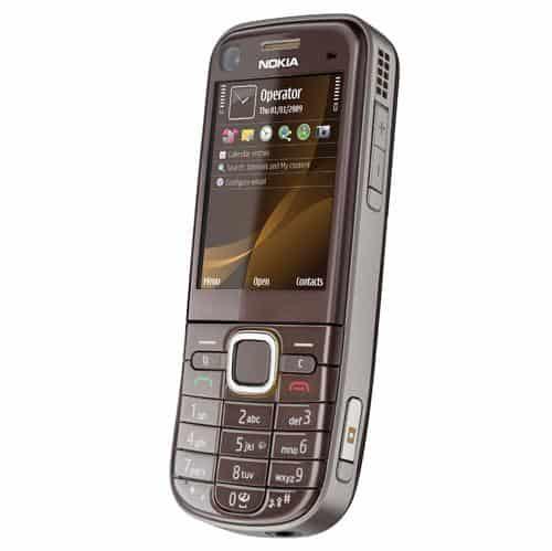 Nokia 6720 Classic Brun